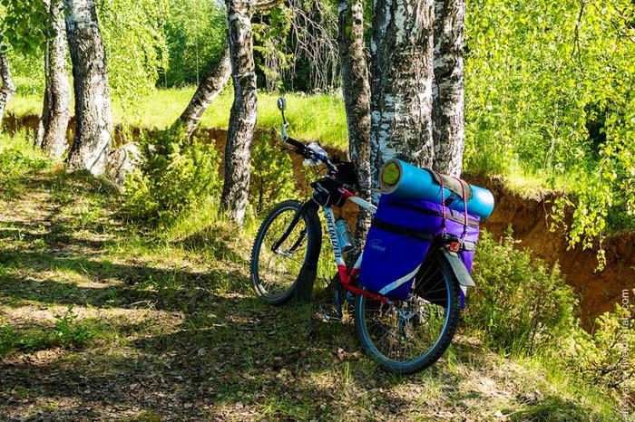 Сиротское снаряжение в велопоход. Путешествия, Снаряжение