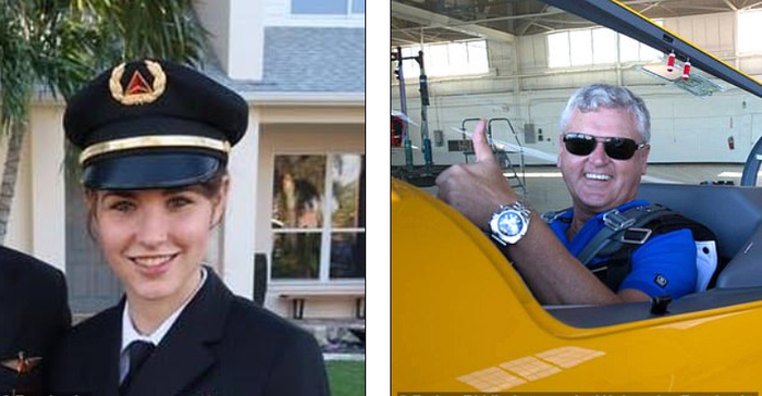 Мать и дочь, вместе пилотирующие самолет Boeing 757 авиакомпании Delta Air Lines Самолет, Женщина, Семья, Пилот, Боинг, Twitter, США
