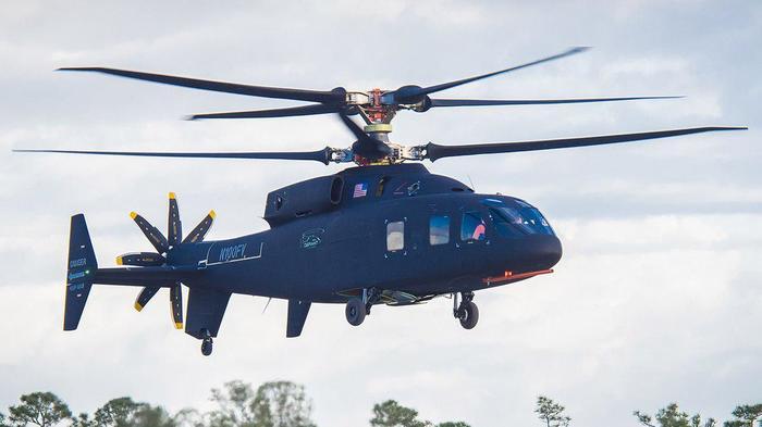 Sikorsky-Boeing SB1 Defiant совершил свой первый полёт Авиация, Вертолёт, Боинг, Испытание, Видео, Сикорский