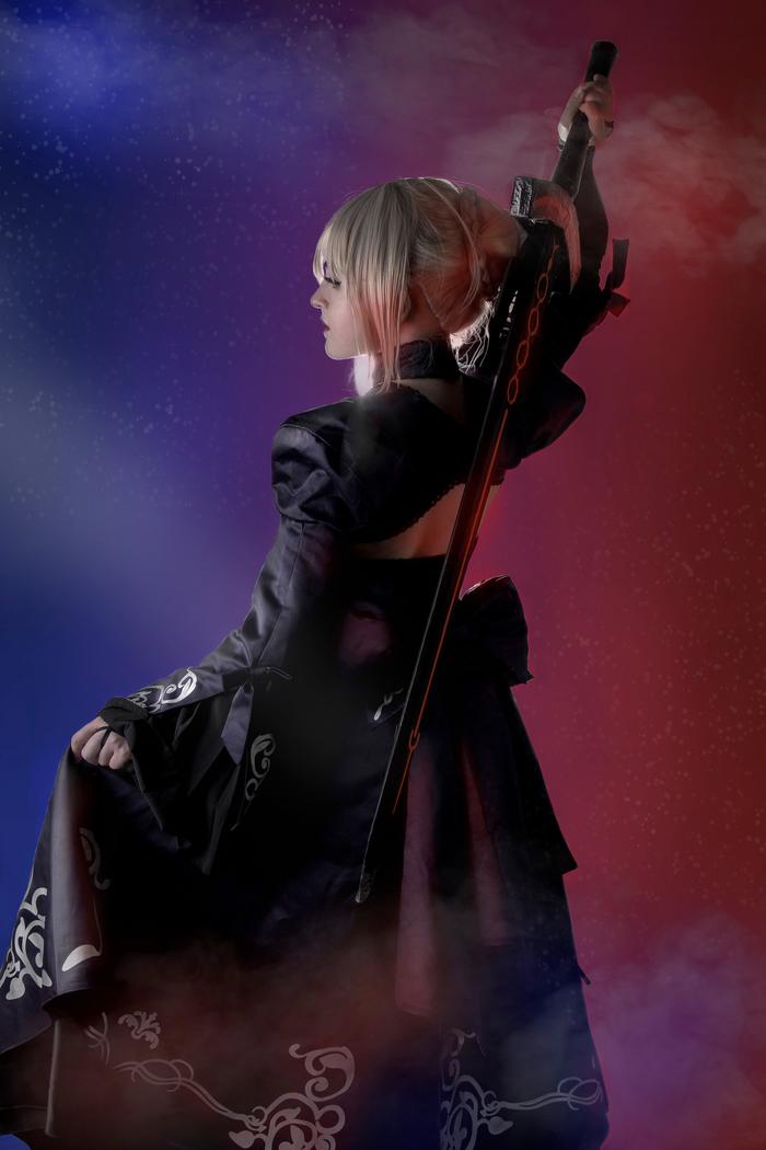 Alter Saber | by Kotoko Fate, Fate Grand Order, Fate-Stay Night, Fate-Kaleid liner Prisma Illya, Saber, Saber Alter, Arturia Pendragon, Длиннопост