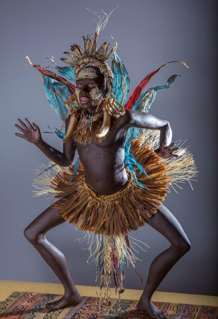 Африканский шаман Шаман, Кукла, Куклы ручной работы, Своими руками, Длиннопост
