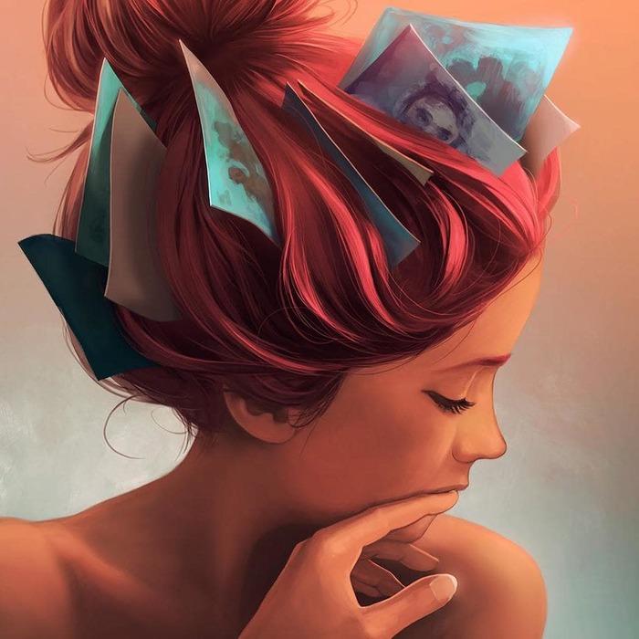 20 волшебных иллюстраций о чувствах и эмоциях от клинического психолога Гипноз, Рок, Музыка, Прикол, Длиннопост, Пост 1 апреля 2019 г
