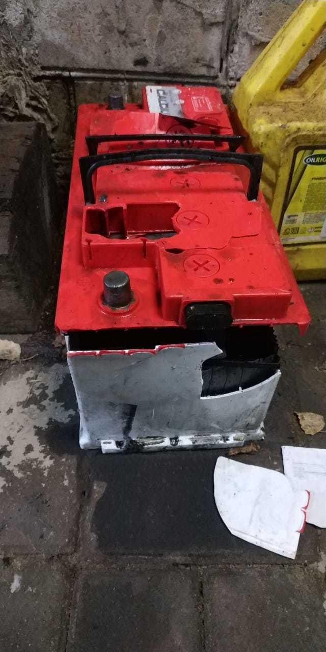 Взрыв автомобильного аккумулятора Аккумулятор, Взрыв, Длиннопост