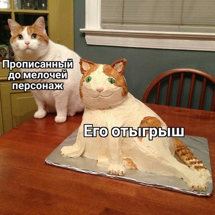 Ролевая шутка Ролевые игры, Отыгрыш, Кот