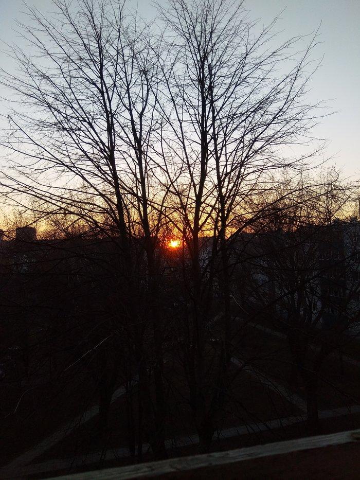 А в Минске солнце посадили! Политика, Минск, Беларусы тоже с нами, Фотография, Закат, Беларусь, Белоруссия