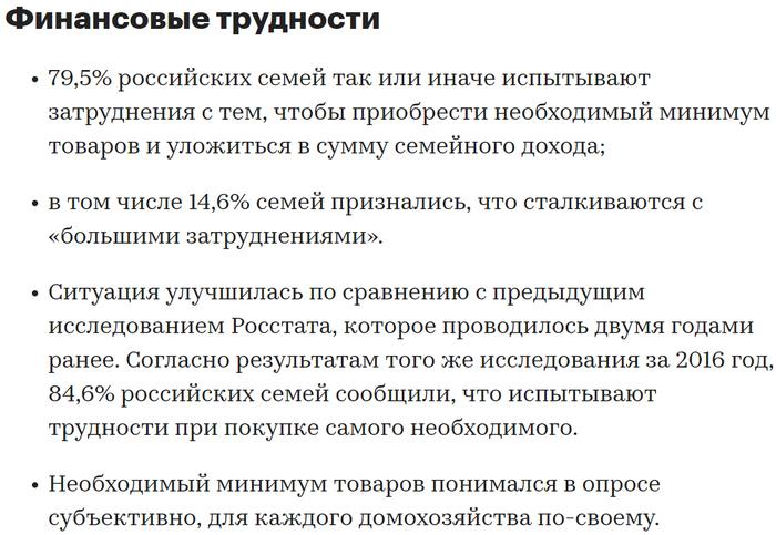 Россияне назвали минимальный доход для «сведения концов с концами» Негатив, Общество, Россия, Росстат, Бедность, Семья, Доход, РБК, Длиннопост