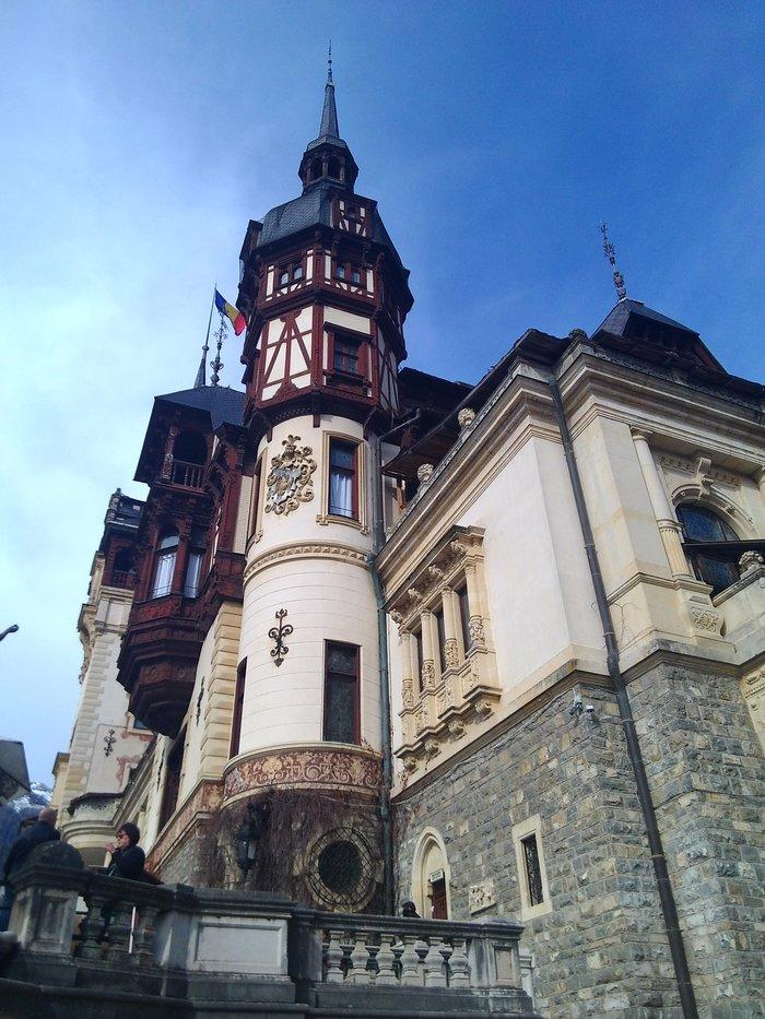 Замок Пелеш, Румыния. Фотография, Замок, Румыния, Горы Синая, Пелеш, Архитектура, История, Длиннопост