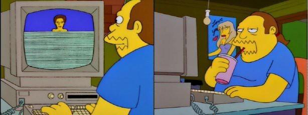 Симпсоны на каждый день [4_Апреля] Симпсоны, Апрель, Каждый день, Интернет, Компьютер