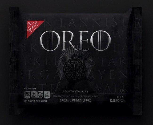 Game of Oreo Oreo, Cake, Игра престолов
