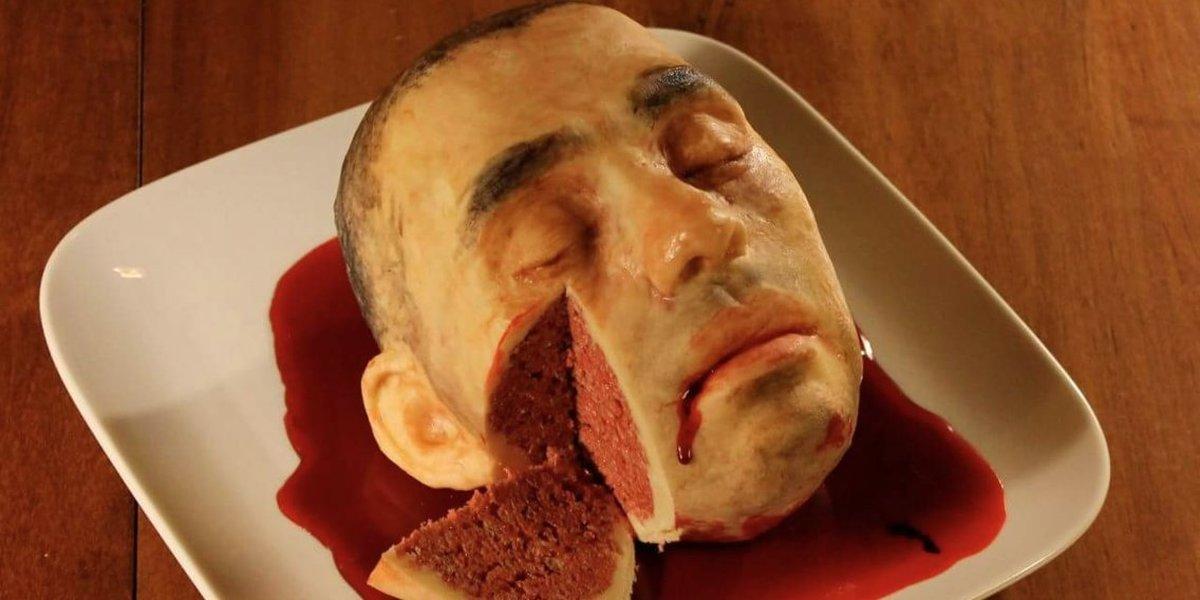 один картинки головой в торт практичный крепиться