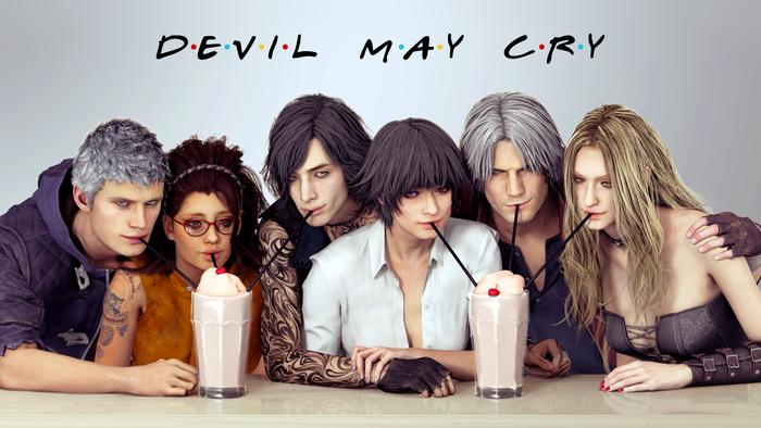 Друзья (Devil May Cry)