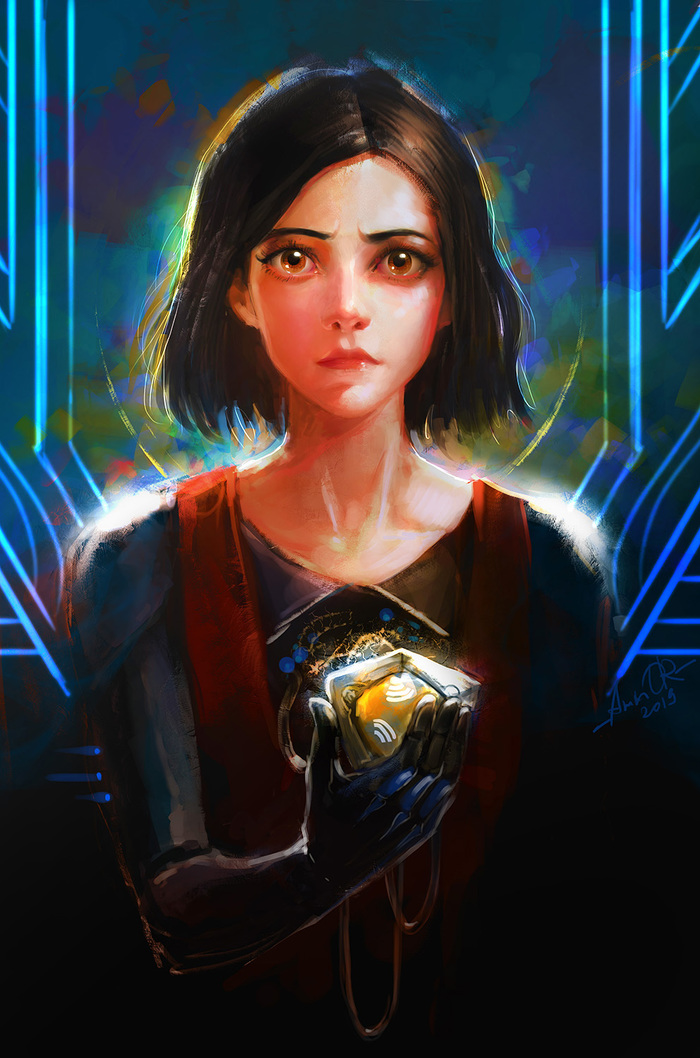Алита: Возьми моё сердце