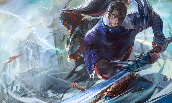 Storm and shadow League of Legends, Yasuo, Зед, Арт, Игры
