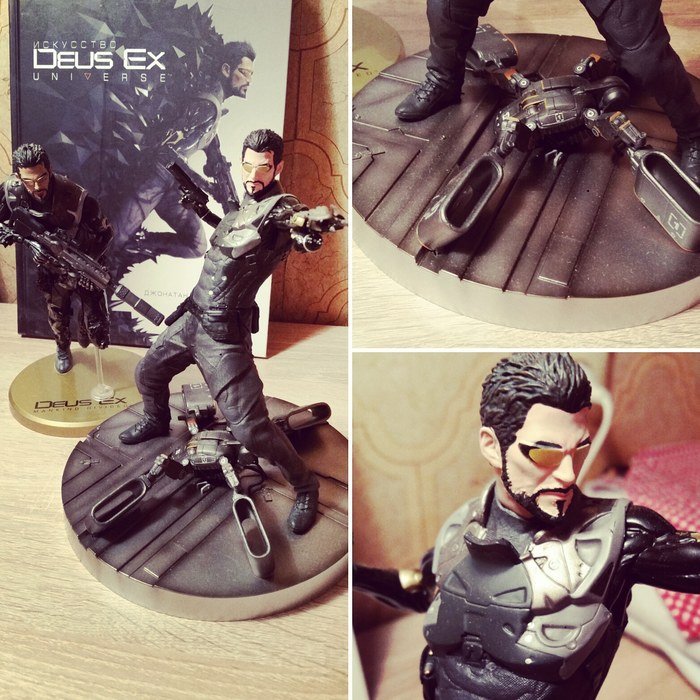 Deus Ex collection Deus Ex, Deus Ex Human Revolution, Deus Ex MankindDivided, Длиннопост