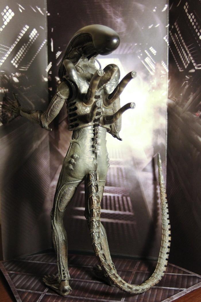 Коллекционная фигурка Hot Toys 1/6 Alien Big Chap MMS106 Чужой, Hot Toys, Action Figures, Коллекционирование фигурок, Ксеноморф, Длиннопост
