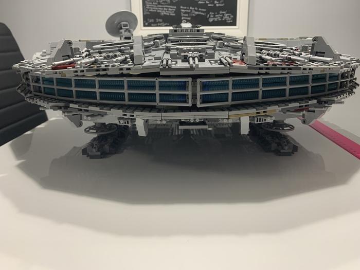 Сокол тысячелетия 9: Финал! LEGO, Тысячелетний сокол, Модели, Длиннопост, Star Wars, Кот