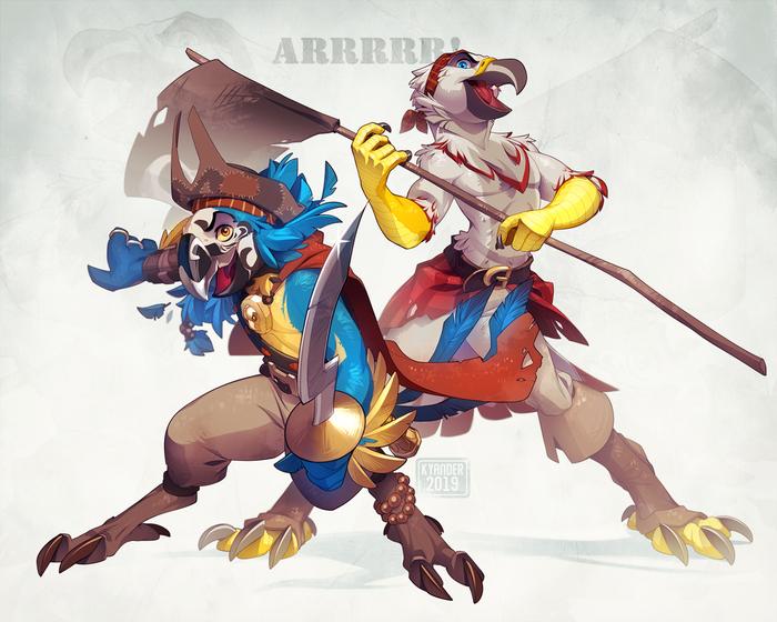 Пираты Furry Art, Фурри, Kyander