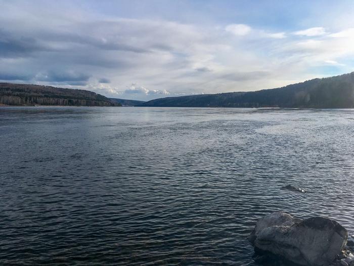 Енисей. Фотография, Река, Енисей, Прогулка, Природа, Длиннопост