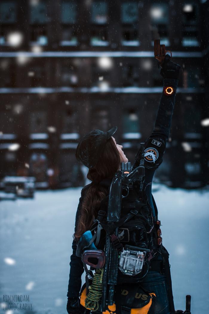 Косплей Агента и Охотника | The Division Косплей, Tom Clancys The Division, Ubisoft, Длиннопост, Игры