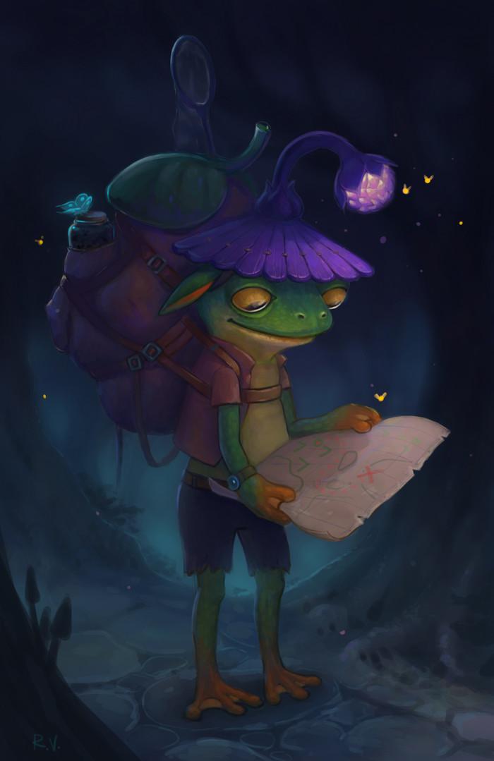 Лягушонок Путешественник