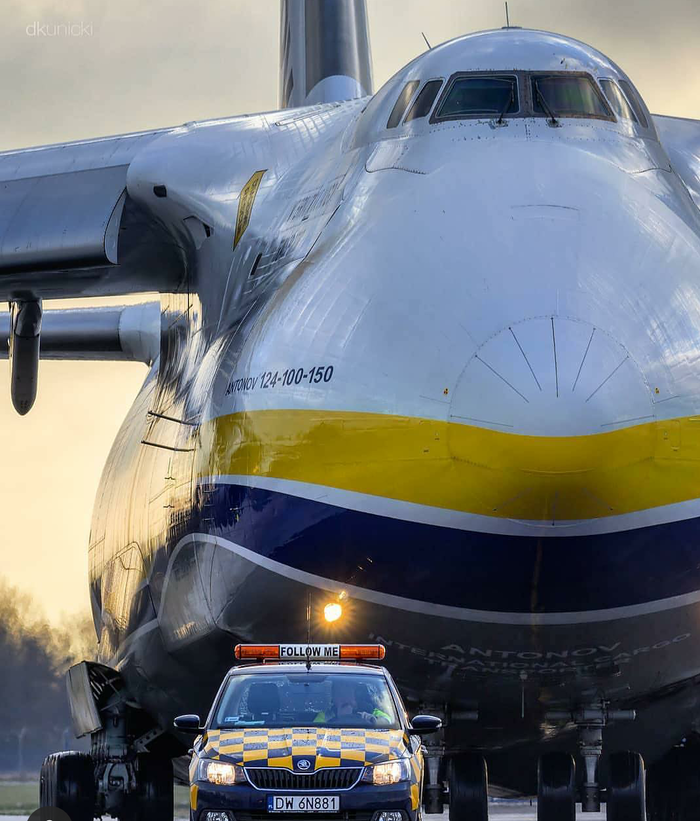 Слон и моська Самолет, Размер, Аэропорт, Ан-124, Ан-124 Руслан