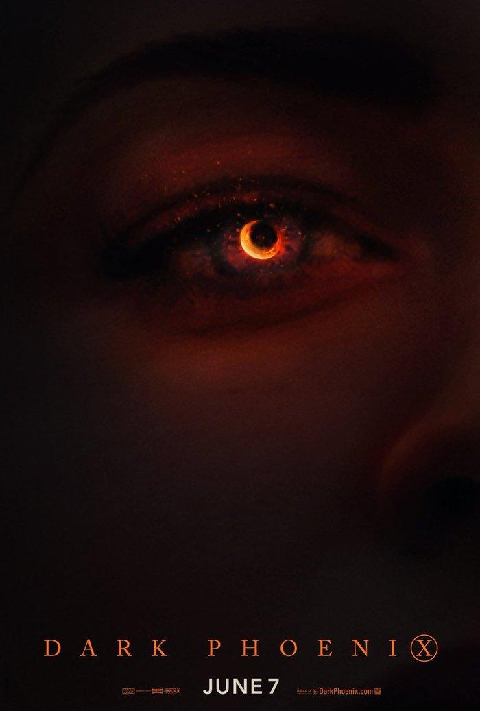 """Новый постер """"Темного феникса"""" Люди Икс: Тёмный Феникс, Комиксы, Постер, Люди Икс, Джин Грей, Софи Тернер, Длиннопост"""