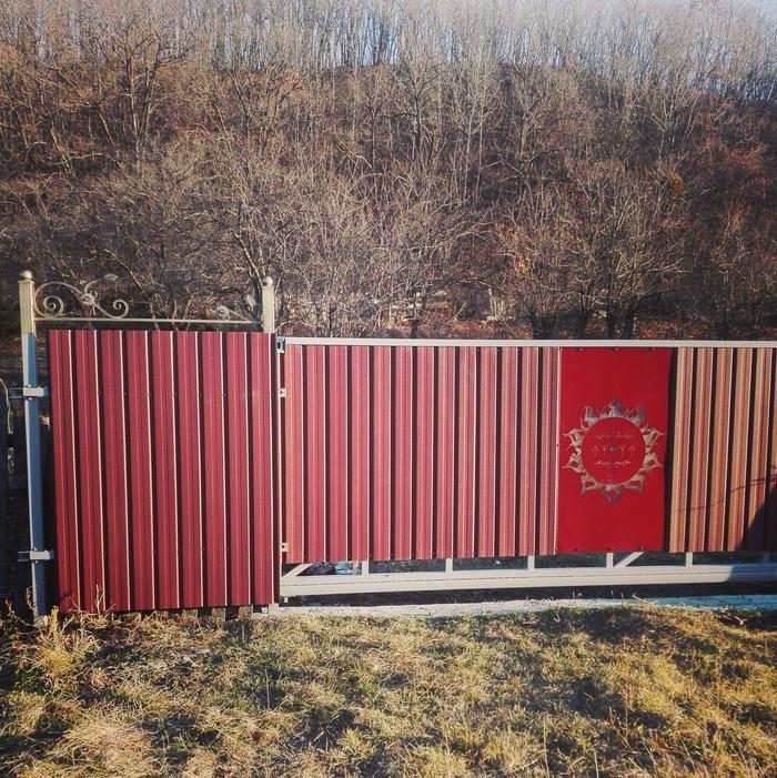 """Забор из """"ковра"""" по цене iphone. Часть 2. Строительство, Забор, Своими руками, Дом, Ворота, Частный дом, Длиннопост"""