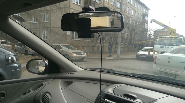 Встретились Эвакуатор, Honda Civic, Автохам, Красноярск