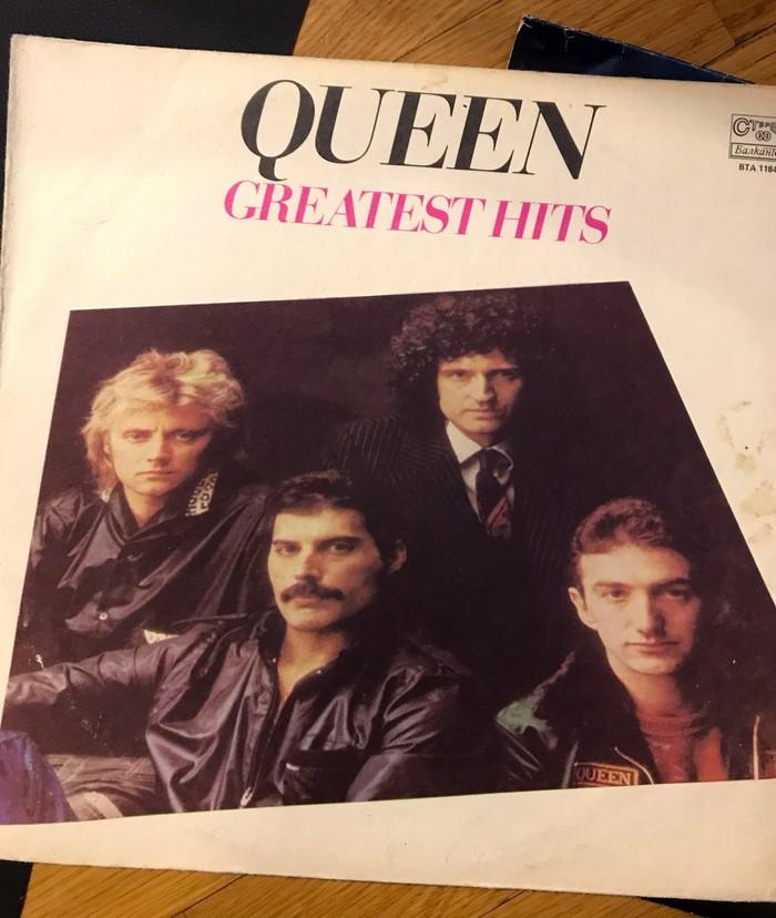 Подарок с антресолей Queen, Виниловые пластинки, Длиннопост