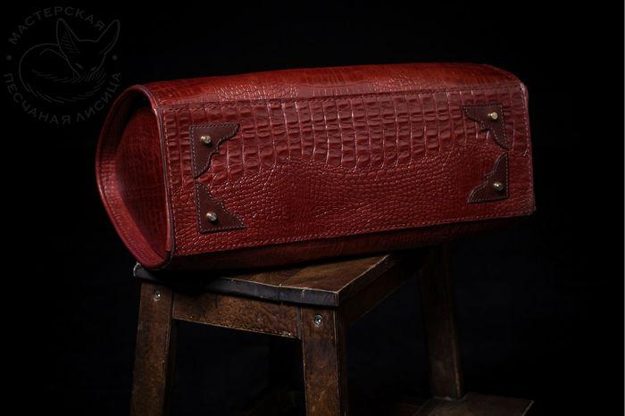 Повседневная сумка Ручная работа, Сумка, Кожа, Крафт, Своими руками, Длиннопост, Рукоделие без процесса, Изделия из кожи