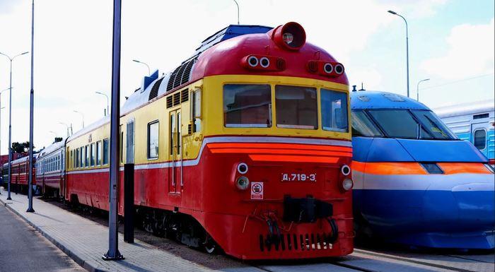 Легендарный Д1. Железная дорога, Д1, Дизель-Поезд, Длиннопост