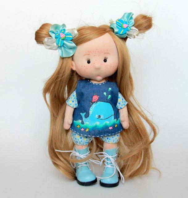 Китёнок приплыл) Кукла, Рукоделие без процесса, Рукоделие, Текстильная кукла, Длиннопост