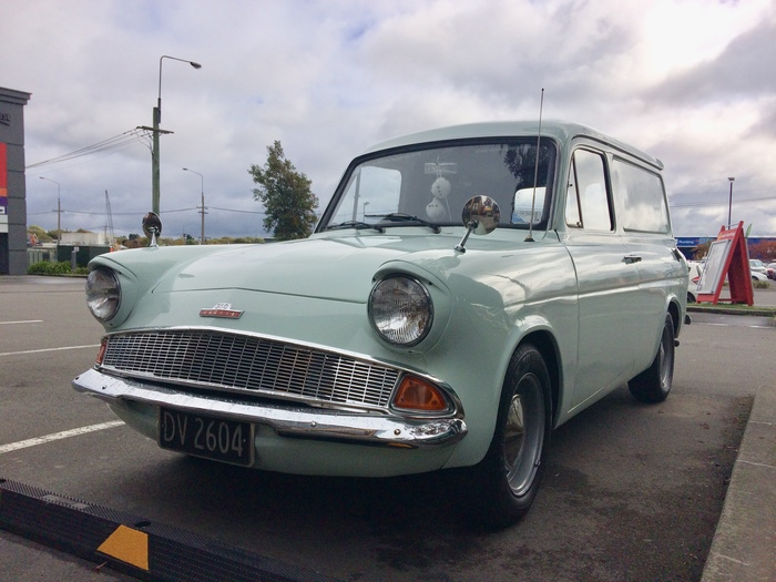 """Каблучок"" - Ford Anglia Van 307E (1966) Ford Anglia Van, Ford UK, Длиннопост"