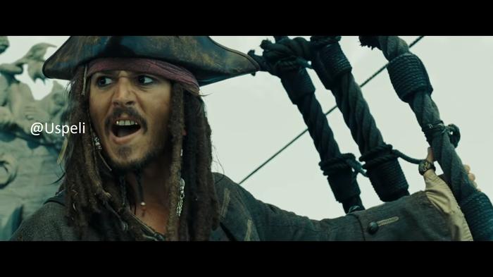 В свете последних событий Пираты карибского моря, Uspeli, Пикабу, Картинка с текстом, Длиннопост