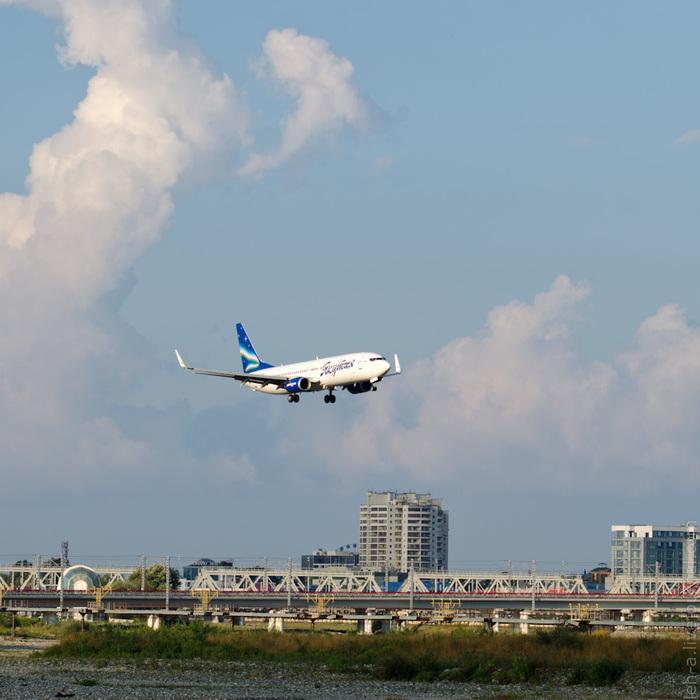 Фотографируем самолёты в Сочи Авиация, Споттинг, Сочи, Аэропорт Адлер, Длиннопост