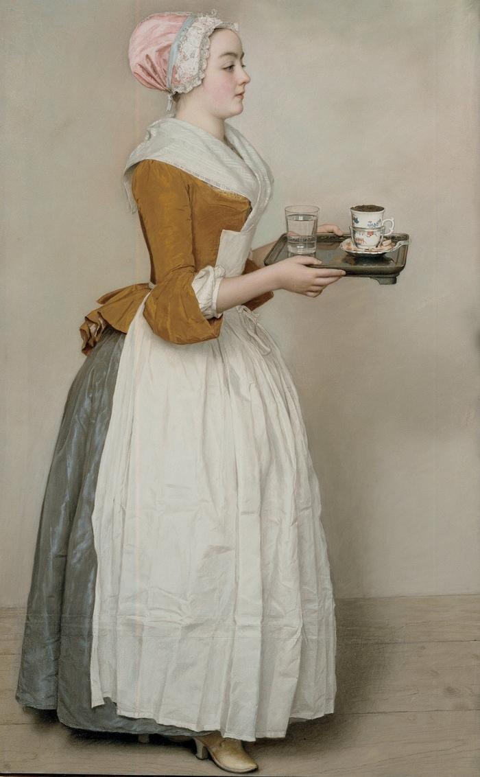 «Прекрасная шоколадница» – картина, которая стала одной из первых торговых марок
