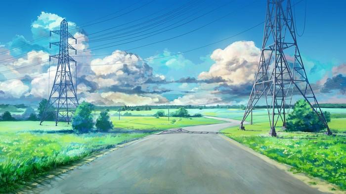 Красивые пейзажи предстоящего лета Лето, Пейзаж, Красота, Длиннопост, Бесконечное Лето