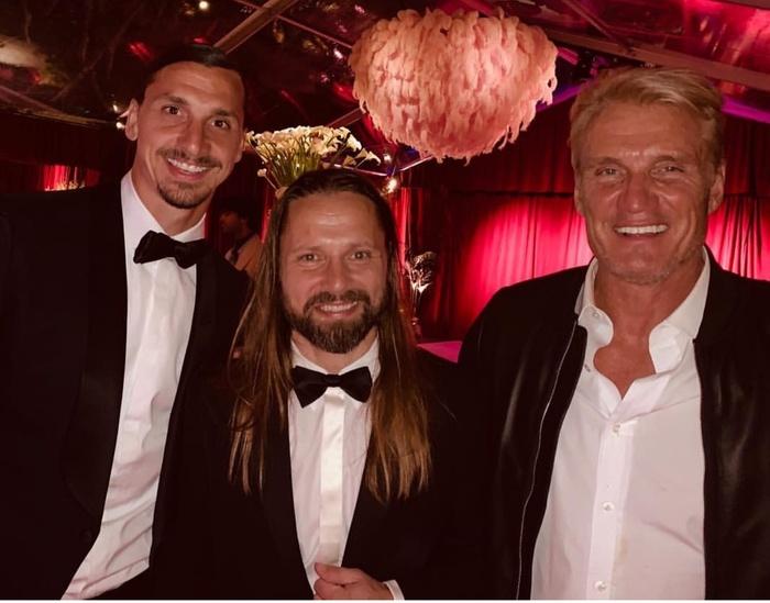 Три знаменитых шведа - футболист Златан Ибрагимович, музыкальный продюсер Макс Мартин и актер Дольф Лундгрен