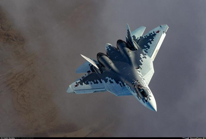 Су-57 и Як-130 от Вадима Савицкого Авиация, Су-57, Як-130, Фотография, Длиннопост
