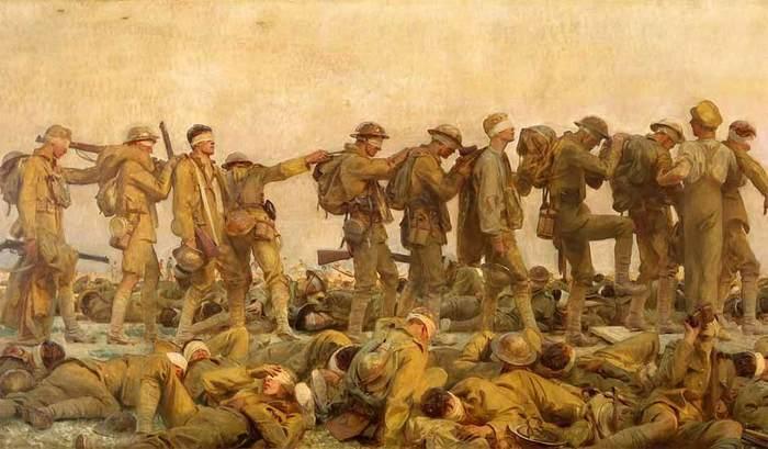 Хорошую вещь ипритом не назовут.... Первая мировая война, Газы, Длиннопост
