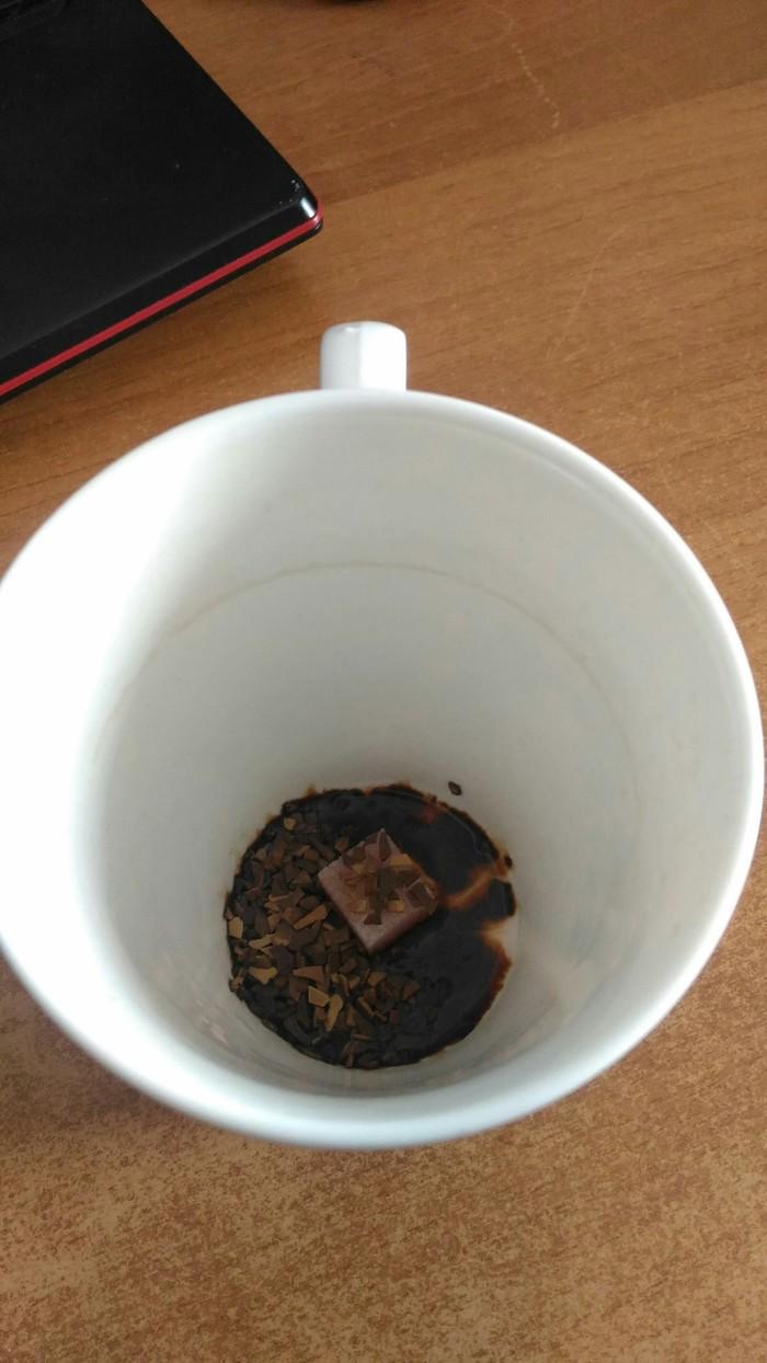 Мой лайфхак: как растворить кофе и размешать сахар без ложки. Лайфхак, Кофе, Длиннопост
