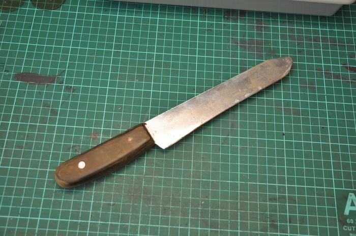 Делаем нож для шерфования кожи Инструменты для кожи, Ручная работа, Длиннопост