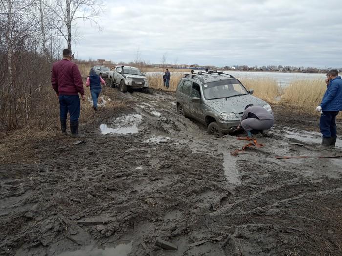 Активный отдых Грязь, Курган, Джип, Покатушки, Длиннопост