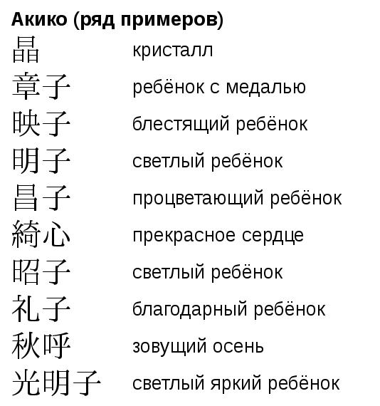 Омонимы в японских именах Японский язык, Кандзи, Иероглифы, Имена, Длиннопост