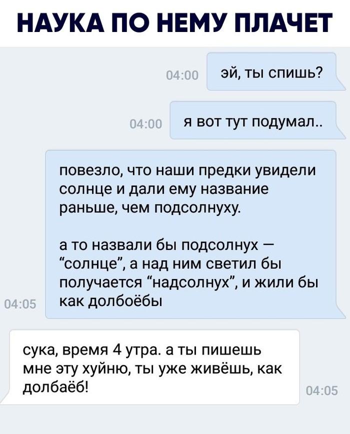 Подсолнух и надсолнух Солнце, Подсолнух, Переписка, Вконтакте