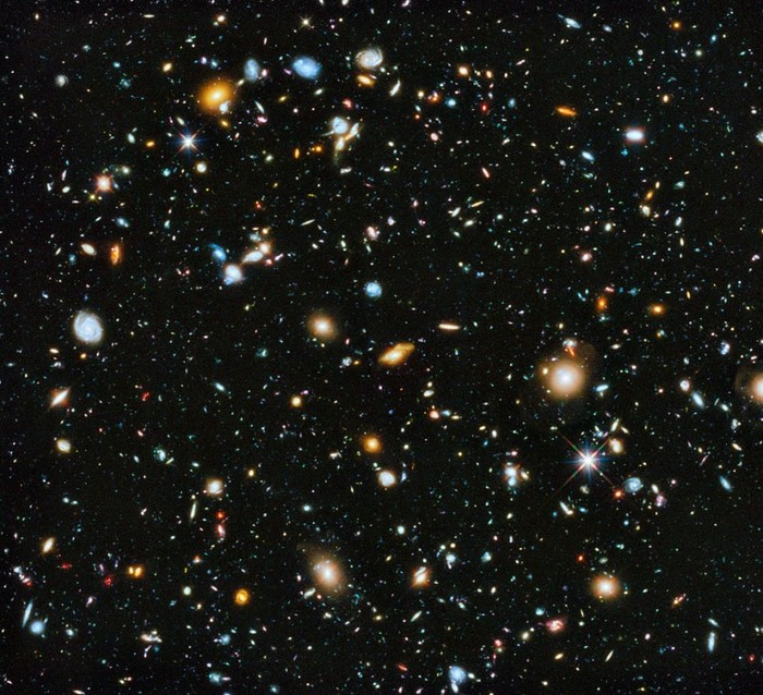 hubble galaxy field - HD 1183×1080
