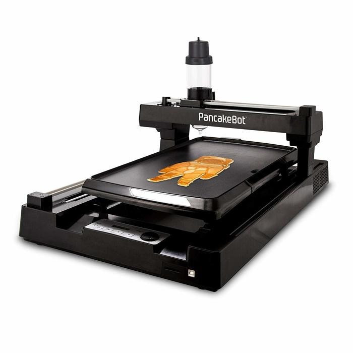 PancakeBot — кондитерский принтер Kickstarter, Indiegogo, Краудфандинг, Круто, Гаджеты, 3D, 3D принтер, Видео, Длиннопост