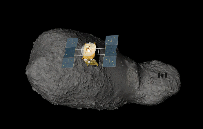 На астероиде нашли воду Астероид, Космос, Вода, Япония, Итокава, Ученые, Зонд, Земля