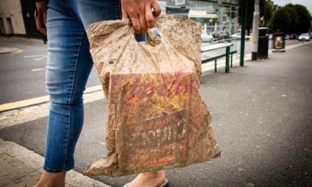 Биоразлагаемые пакеты не разложились, проведя три года под землей Пакет, Пластик, Разложение, Длиннопост