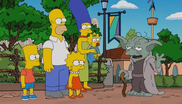 Симпсоны на каждый день [4_Мая] Симпсоны, Каждый день, Май, Star Wars, Длиннопост, 4 мая